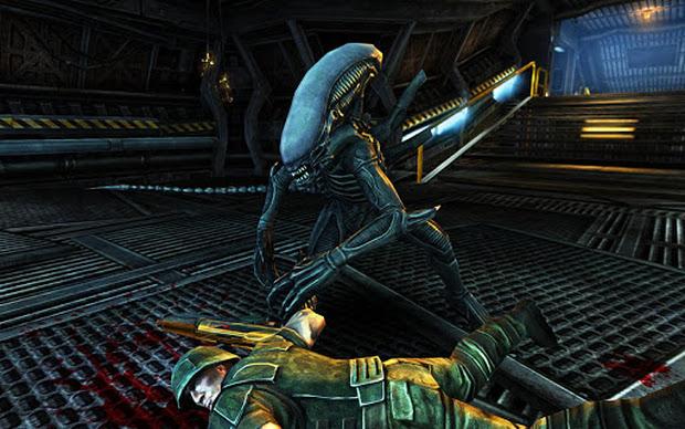 Prepare-se para trucidar humanos em Alien vs Predator Evolution (Foto: Divulgação)