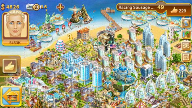 Paradise Island é um SimCity focado em turismo (Foto: Divulgação)