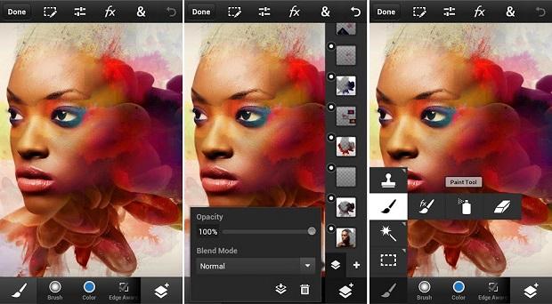 Photoshop Touch é um editor avançado e completo (Foto: Divulgação)