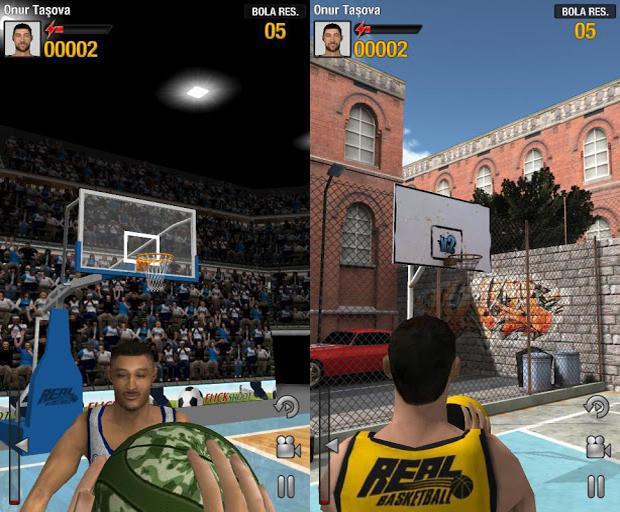 Real Bastketball traz disputa de lances livres com belos gráficos (Foto: Divulgação)