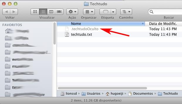 mostrar archivos ocultos mac maveric