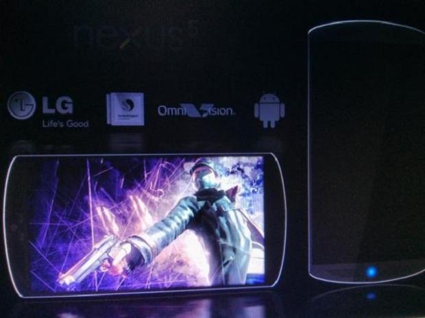 Este é o suposto Nexus 5 (Foto: Reprodução/CNET)