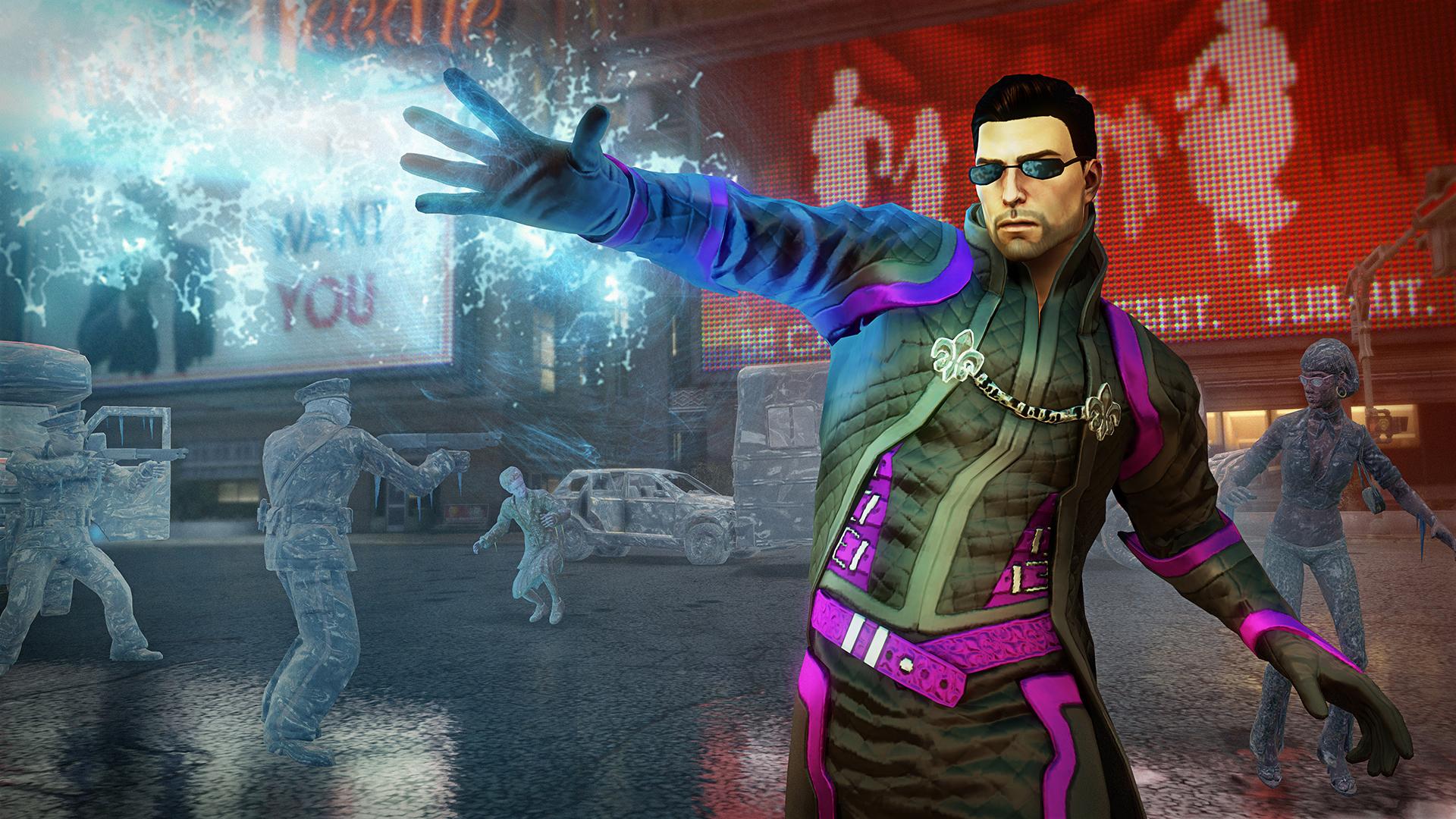 Superpoderes vão tornar Saints Row ainda mais frenético (Foto: Divulgação)