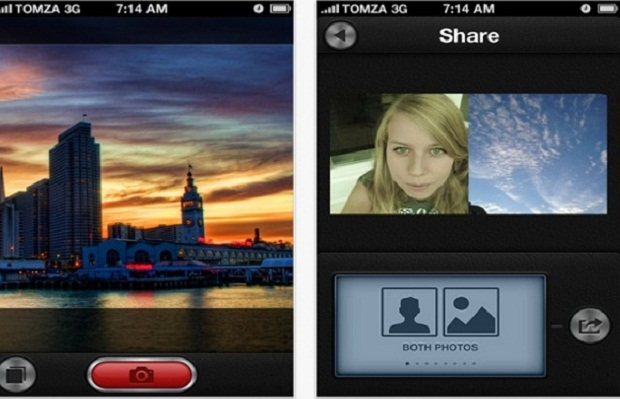 DuoCam para iPhone (Foto: Reprodução)