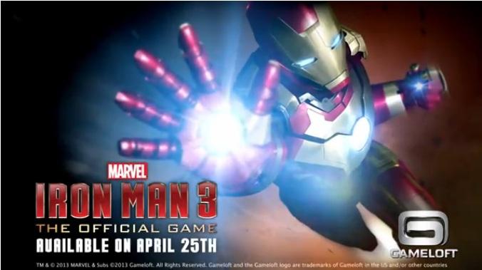 Gameloft anuncia jogo do filme Homem de Ferro 3 (Foto: Reprodução)