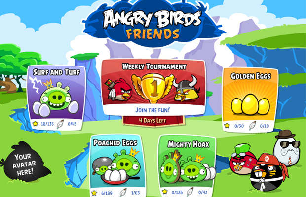 angrybirdsfriendslancamento
