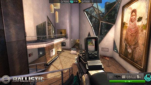 Os gráficos de Ballistic são impressionantes para um jogo de navegador (Foto: Divulgação)