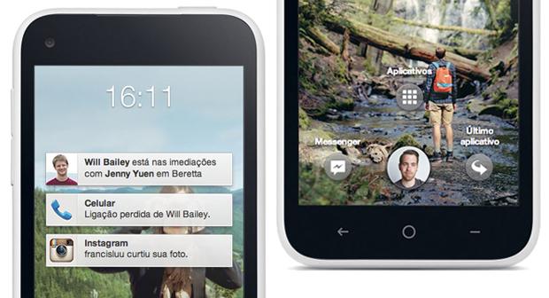 Facebook Home, o novo launcher da rede social para smartphones e tablets Android (Foto: Divulgação)