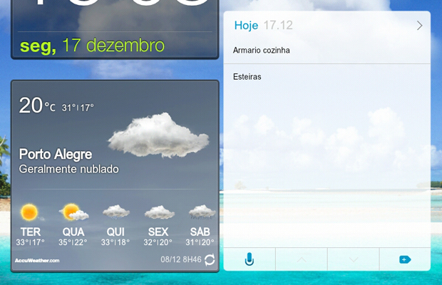 8 widget tarefas do dia e funcoes