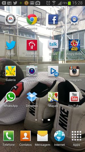 Android comum tem apps em destaque (Foto: Thiago Barros/TechTudo)
