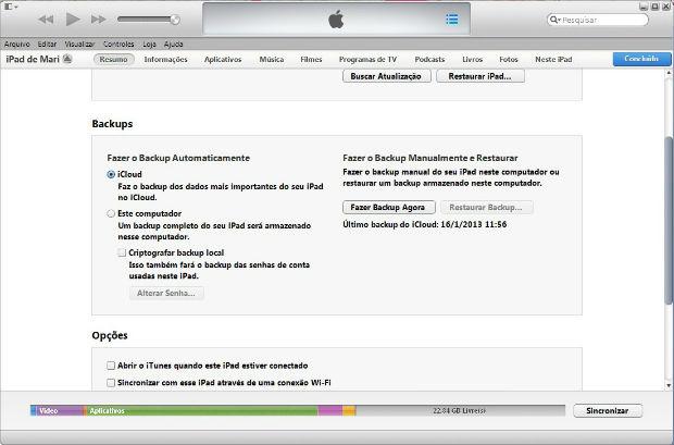 Saiba como fazer backup do iPod e salvar suas fotos, músicas