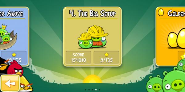 The Big Setup - Angry Birds (Foto: gsmarena.com)