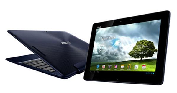 Teclado acoplado transforma este tablet em notebook (Foto: Divulgação)