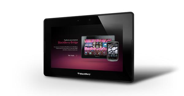 PlayBook é ideal para que já possui um BlackBerry (Foto: Divulgação)