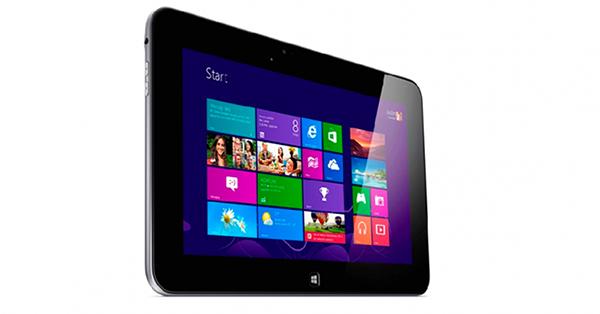Latitude 10 utiliza o Windows 8 como sistema (Foto: Divulgação)