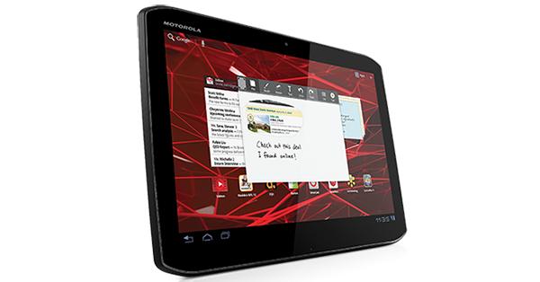 Xoom 2 tem tela de 10.1 polegadas com Gorila Glass (Foto: Divulgação)