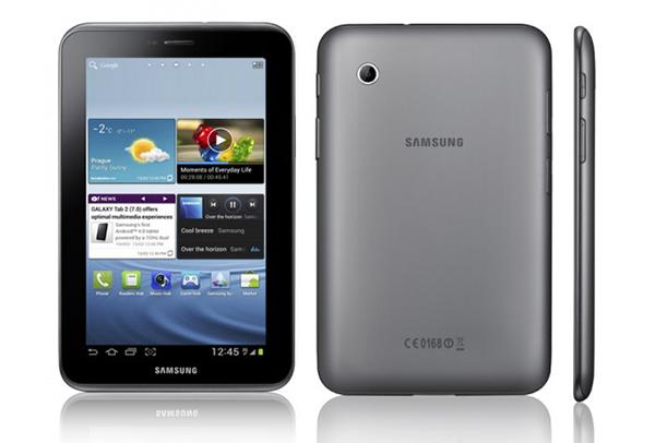 O Galaxy Tab 2 7.0 tem design ultrafino (Foto: Divulgação)