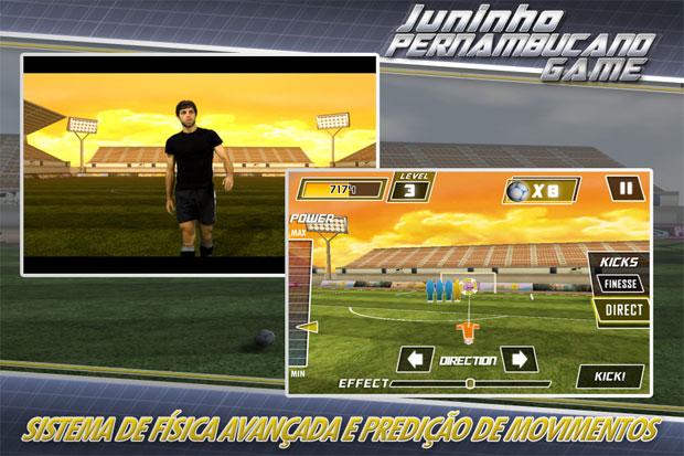 Juninho Pernambucano Game Pro chegou para iOS e Android (Foto: Divulgação)