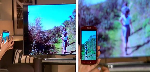 Músicas também podem ser executadas, assim como fotos podem ser visualizadas e ter o zoom controlado pelo S3 (Foto: Reprodução/ CNet) (Foto: Músicas também podem ser executadas, assim como fotos podem ser visualizadas e ter o zoom controlado pelo S3 (Foto: Reprodução/ CNet))