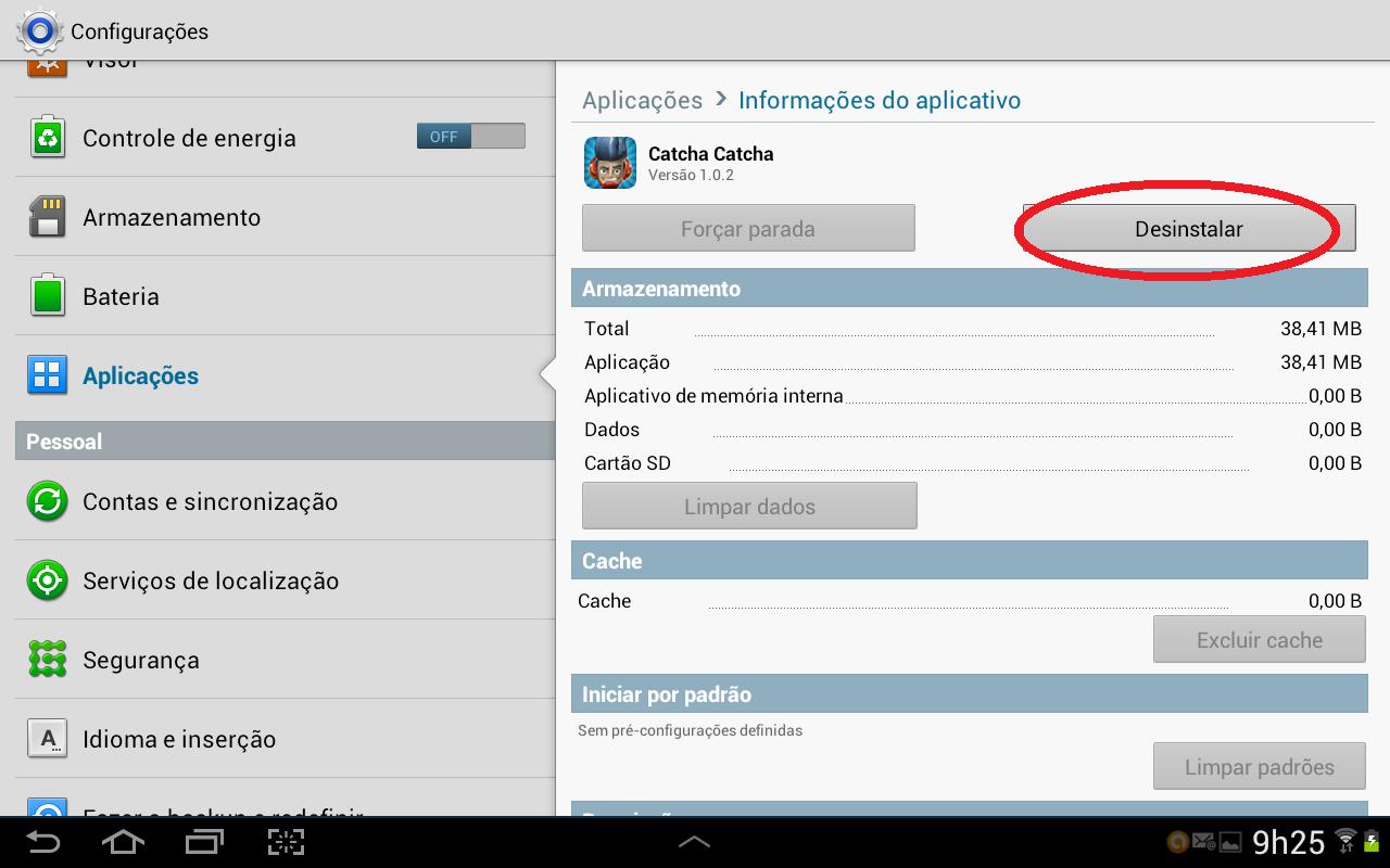 Android exibe informações dos apps selecionados e a opção desinstalar (Foto: Daniel Ribeiro/TechTudo)