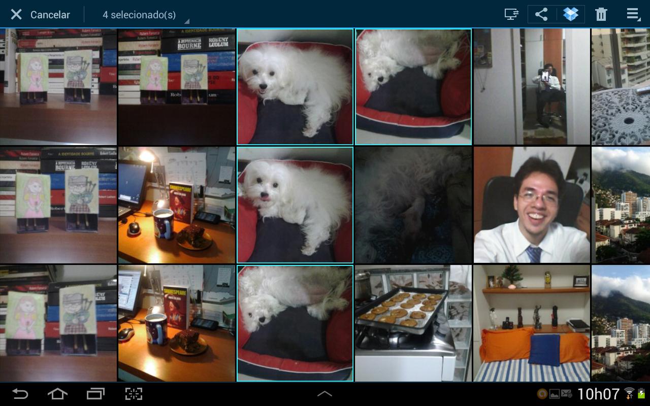 Android oferece a opção de salvar fotos e vídeos diretamente na núvem (Foto: Daniel Ribeiro/TechTudo)