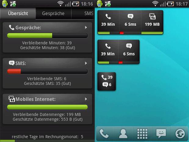 Monitora rede de dados, chamadas e mensagens SMS (Foto: Divulgação)