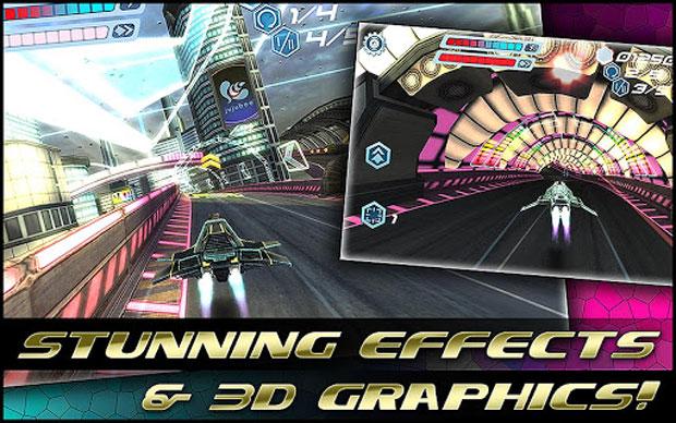 Flashout 3D é corrida futurista no Android (Foto: Divulgação)