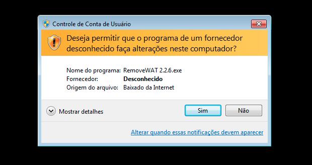 programa para retirar mensagem de windows 7 pirata