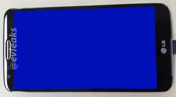 O suposto novo Nexus tem design curviíneo e tela maior (Foto: Reprodução/evleaks)