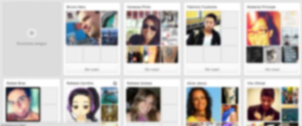 Ecranizează cu prietenii pe care îi urmezi pe Pinterest (Foto: Redare / Thiago Barros)