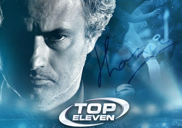 Top Eleven tem a assinatura de José Mourinho (Foto: Reprodução/Thiago Barros)