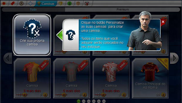 Siga as dicas de Mourinho e personalize o seu time (Foto: Reprodução/Thiago Barros)