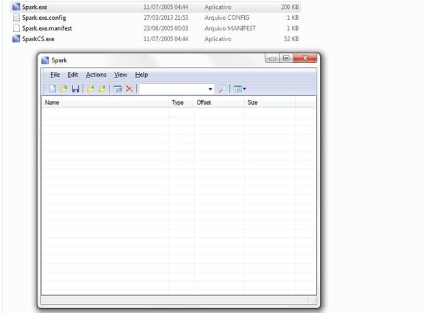 Aplicativo e tela inicial Spark IMG Editor (Foto: Reprodução / TechTudo)