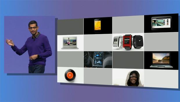 Gadgets usados atualemente mostrados pelo Google (Foto: Divulgação)