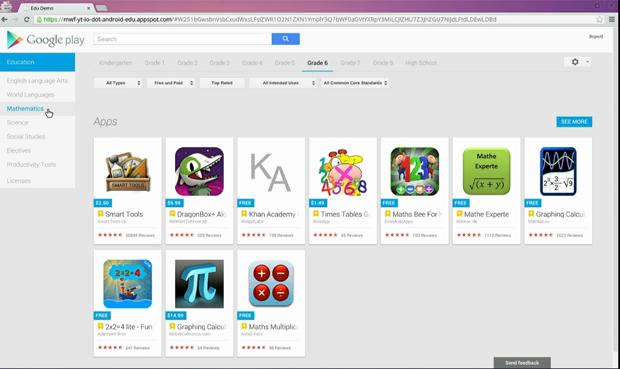 Google Play Education (Foto: Reprodução/ YouTube)