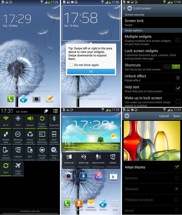 Galaxy S3 receberá diversas das novidades presentes no Galaxy S4 (Foto: Reprodução/SamMobile) (Foto: Galaxy S3 receberá diversas das novidades presentes no Galaxy S4 (Foto: Reprodução/SamMobile))
