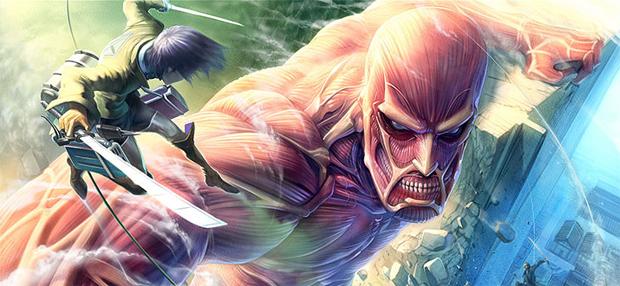 Attack on Titan mostra a humanidade contra gigantes (Foto: Reprodução)