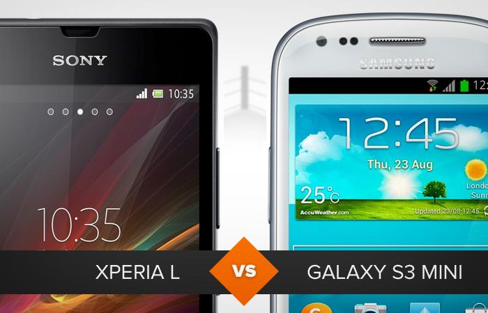 Xperia L ou Galaxy S3 Mini? Qual dos smartphones leva a melhor? (Foto: Arte/TechTudo)