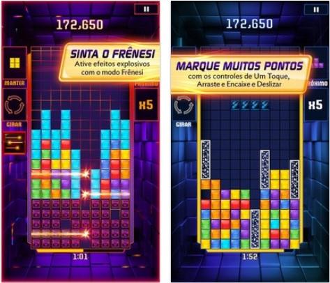 Tetris Blitz traz algumas novidades em relação ao clássico (Foto: Divulgação)