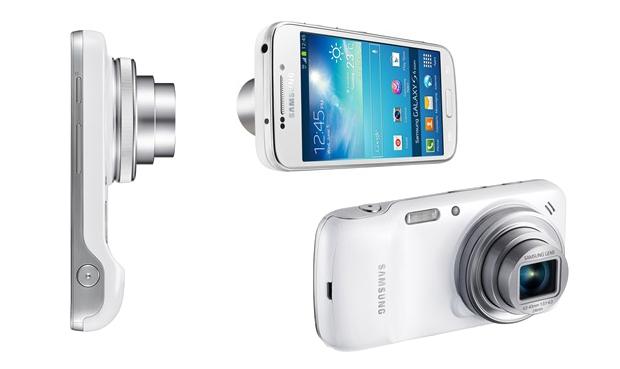 Galaxy S4 Zoom é um híbrido entre smartphones e câmeras digitais (Foto: Arte/Divulgação)