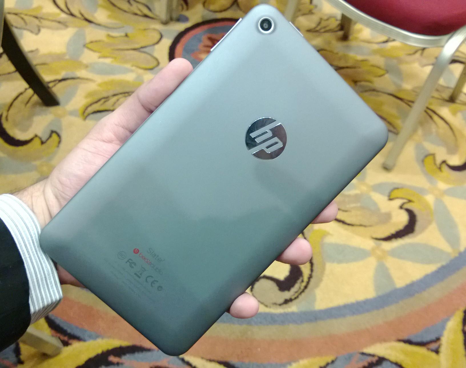 HP Slate 7 é um tablet de baixo custo com qualidade (Foto: Allan Melo/TechTudo)