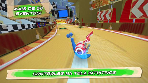 Seja a lesma mais rápida em Turbo Racing League (Foto: Divulgação)