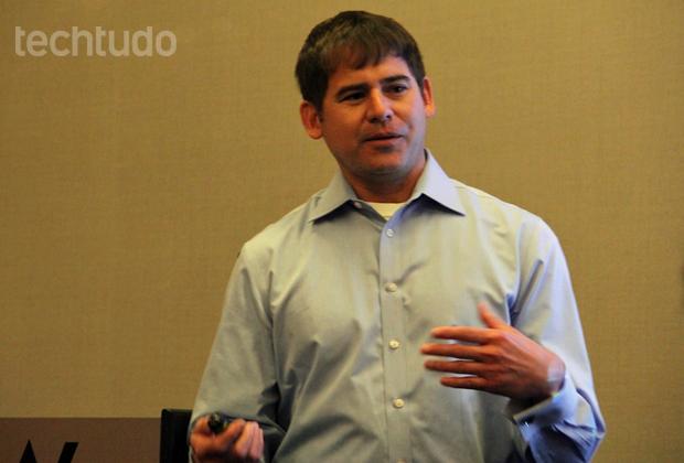 Diretor de produtos da Qualcomm, Paul Torres (Foto: Fabrício Vitorino / TechTudo)