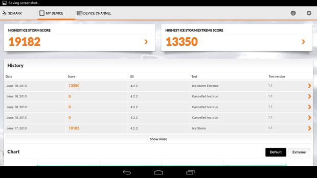 Pontuação do novo Snapdragon 800 no 3DMark (Foto: Divulgação)