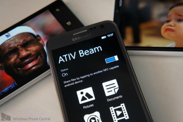 Ativ Beam facilita troca de arquivos entre Android e WP (Foto: Reprodução/WP Central)
