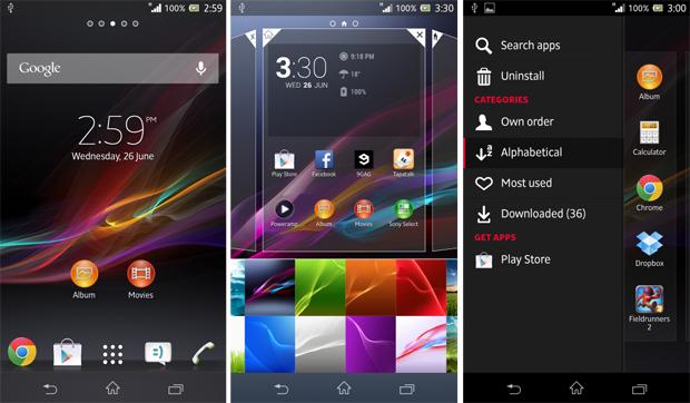 Xperia i1 trará Android com interface renovada (Foto: Reprodução/Xperia Blog)