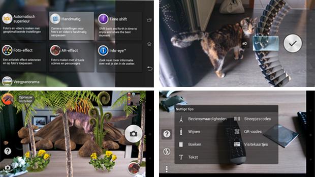 Xperia i1 terá inovações no aplicativo da câmera, mostram capturas de tela (Foto: Reprodução/Xperia Blog)