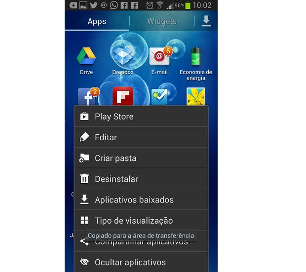 Apps podem ser desinstalados de maneira bem simples (Foto: Reprodução Thiago Barros)