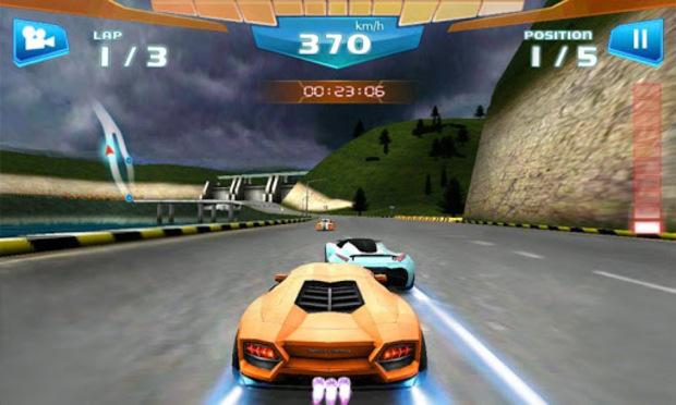 Se você teve problemas para rodar Asphalt 7, tente Fast Racing (Foto: Divulgação) (Foto: Se você teve problemas para rodar Asphalt 7, tente Fast Racing (Foto: Divulgação))