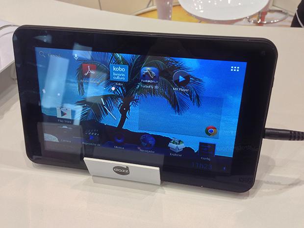 f404a021331 Dazz anuncia nova linha de tablets na Eletrolar Show 2013
